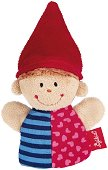 Кукла за пръстче - Джудже - Плюшена играчка за куклен театър -