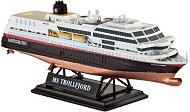 Круизен кораб - MS Trollfjord - Сглобяем модел -