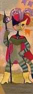 Мини пъзел Рицар - Златна колекция - Розина Вахтмайстер (Rosina Wachtmeister) - пъзел