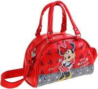 Детска чанта с дръжки и презрамка - Мини Маус - играчка
