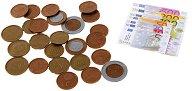 Детски евро банкноти и монети за игра - играчка