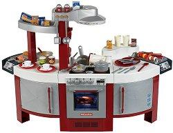 Детска кухня - Miele No.1 - Комплект с реалистични звуци и 57 аксесоара - играчка
