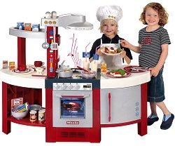 Детска кухня - Miele Gourmet International - Със звукови ефекти и аксесоари - играчка