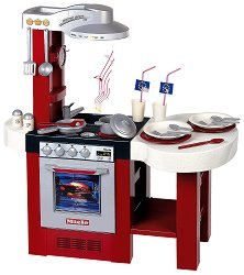 Детска кухня - Miele Gourmet Deluxe - Със звукови ефекти и аксесоари - играчка