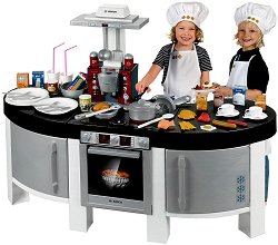 Детска кухня - Bosch Vision - Със звукови ефекти и аксесоари  - играчка