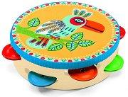 Дайре - Animambo - Детски дървен музикален инструмент - играчка