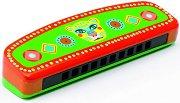 Хармоника - Animambo - Детски дървен музикален инструмент - играчка