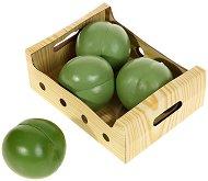 Плодове за игра - Зелена ябълка - Комплект от 4 броя -
