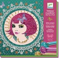 Оцвети с брокат - Cleo Pop and Rock - Творчески комплект - аксесоар