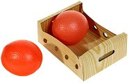 Плодове за игра - Портокали - Комплект от 2 броя - играчка