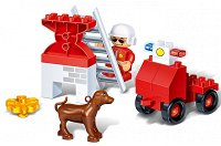 Пожарникар в акция - Детски конструктор - играчка