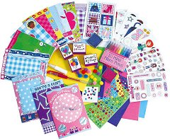 Направи сама  –  блестящи картички - Творчески комплект - играчка