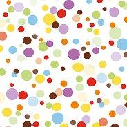 Салфетки за декупаж - Цветни точки