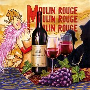Салфетки - Moulin Rouge - Пакет от 20 броя