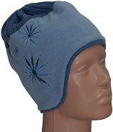 Зимна плетена шапка - Simo