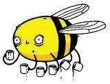 Временна татуировка - Пчела