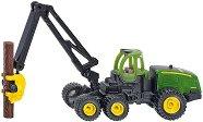 """Комбайн с кран - John Deere 1470E - Метална играчка от серията """"Super: Agriculture"""" - фигура"""