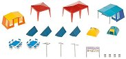 Комплект палатки и тенти за къмпинг - Сглобяеми модели - макет