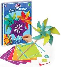 Създай сама - Вятърни цветя - Творчески комплект - играчка