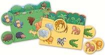 Научи животните - Образователна игра -