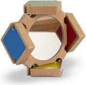 Вълшебно огледало - Детска дървена играчка - играчка