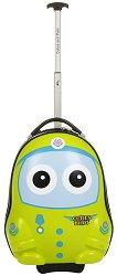 Детски куфар с колелца - Пилот -
