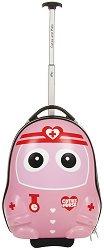 Детски куфар с колелца - Медицинска сестра - играчка