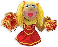 Мажоретка - Плюшена играчка за куклен театър -