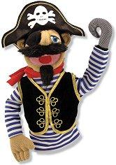 Пират - Плюшена играчка за куклен театър - играчка