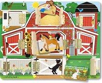 Отвори вратите на животните - Детска играчка с магнити - играчка