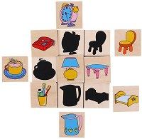 Намери правилната сянка - Образователна игра -