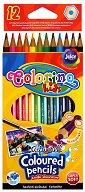 Цветни акварелни моливи - Комплект от 12 цвята