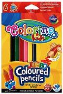 Тристенни цветни моливи - Jumbo