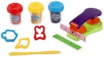 """Преса с формички - Комплект с пластилин от серията """"Fun Dough"""" -"""