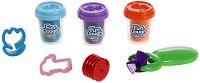 """Пластилин с формички и ролер - Комплект от серията """"Fun Dough"""" -"""