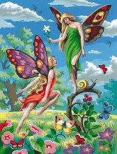 Нарисувай сам шедьовър - Феи - Творчески комплект - детски аксесоар