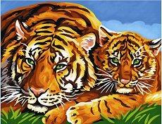 Нарисувай сам шедьовър - Тигри - количка