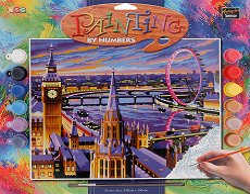 Нарисувай сам шедьовър - Лондон - Творчески комплект - продукт