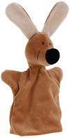Куче - Плюшена играчка за куклен театър - хартиен модел