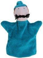 Ловец - Плюшена играчка за куклен театър - играчка