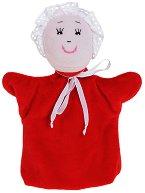 Червената шапчица - Плюшена играчка за куклен театър - играчка