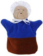 Баба - Плюшена играчка за куклен театър - хартиен модел