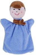 Момче - Плюшена играчка за куклен театър - играчка