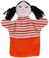 Момиче - Плюшена играчка за куклен театър - играчка