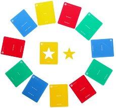 Геометрични шаблони - Комплект от 12 броя