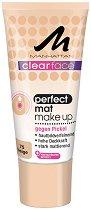 """Manhattan Clearface Perfect Mat Make Up - Фон дьо тен за проблемна кожа от серията """"Clearface"""" - тампони"""