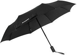 Автоматичен телескопичен чадър за двама - Rubberstyle W1102