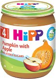 HiPP - Био пюре от тиква и ябълка - чаша