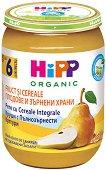 HiPP - Каша с круши и пълнозърнести култури - Бурканче от 190 g за бебета над 6 месеца - продукт