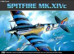 Военен самолет - Spitfire MK. XIVc - Сглобяем авиомодел -